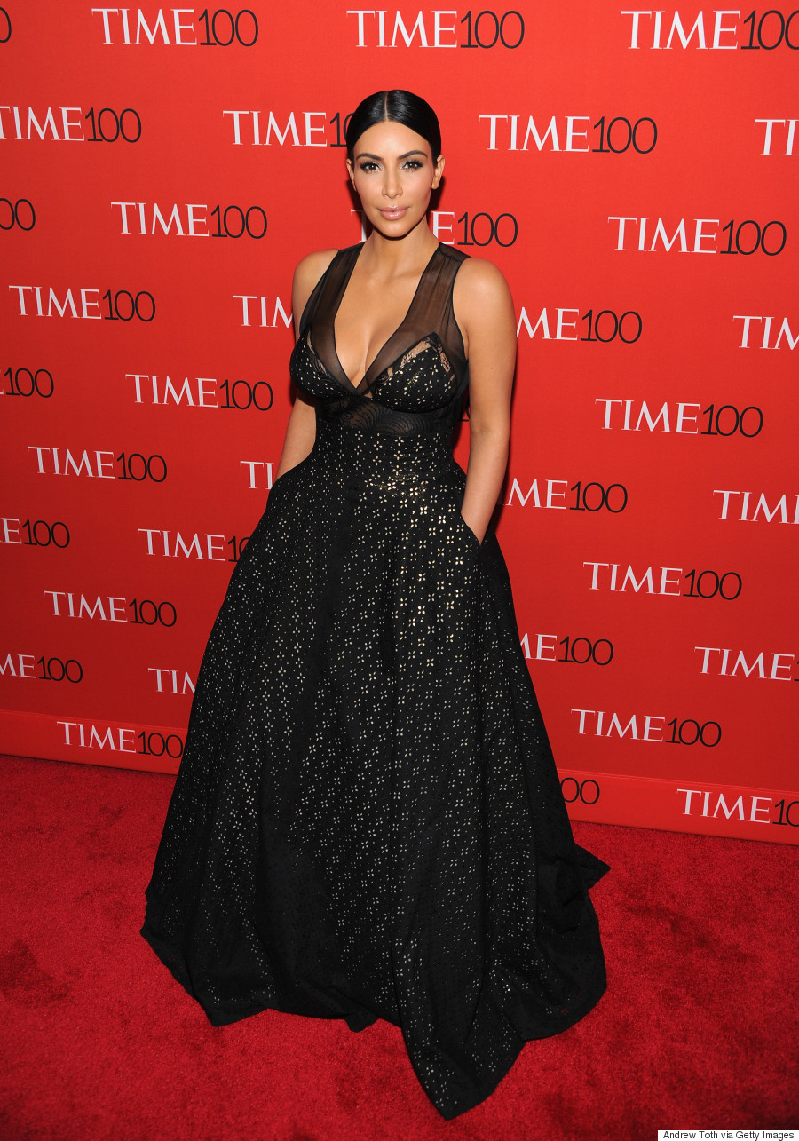 Kim Kardashian\'s Time 100 Gala Dress Is Classy And Elegant