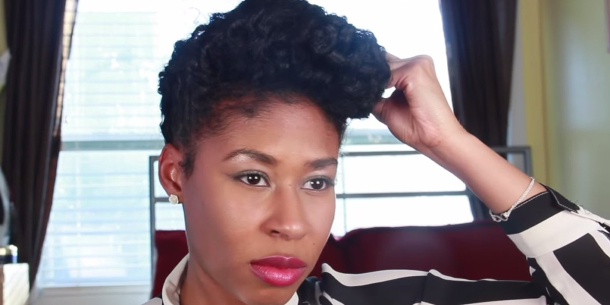 five natural hairstyle ideas for busy moms | huffpost