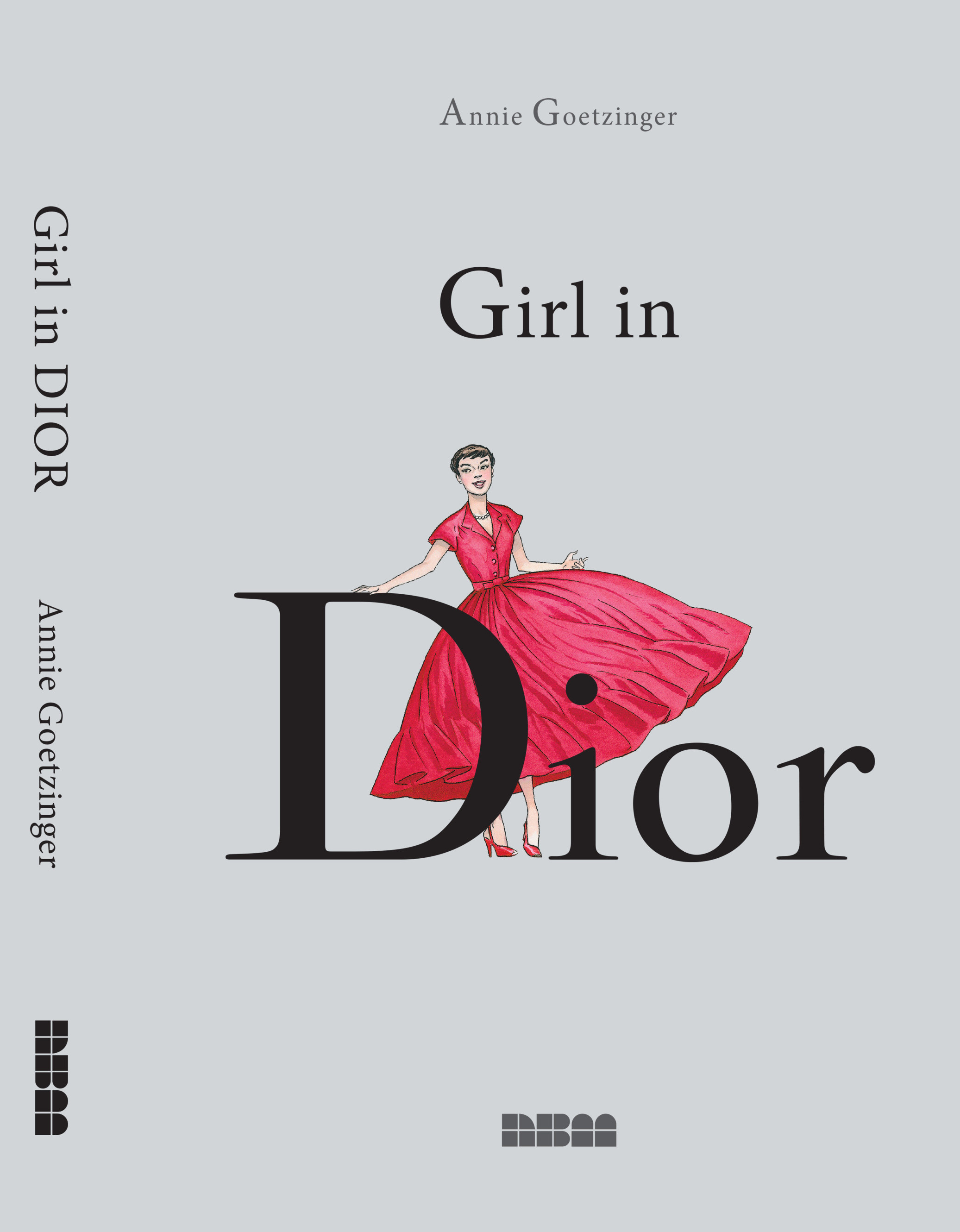 a girl in dior