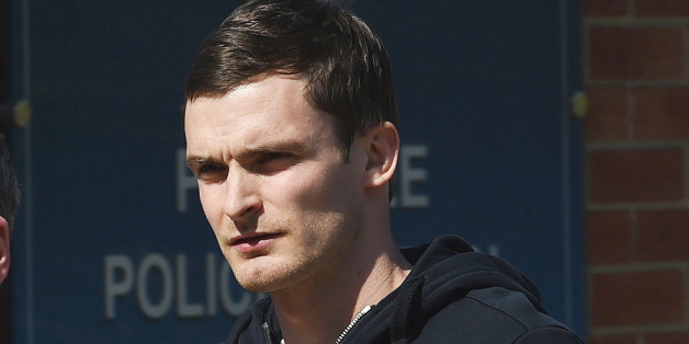 England footballer and Sunderland winger Adam Johnson, arrives to answer bail at Peterlee Police station in County Durham, after he was arrested by Durham Police on suspicion of sexual activity with a girl under 16.