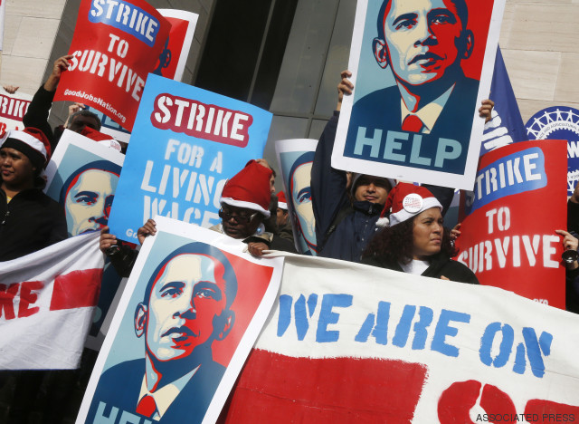 obama wages demonstration