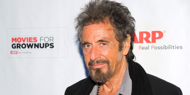 IMAGE DISTRIBUTED FOR AARP - Al Pacino arrives at the AARP Movies for Grownups Film Showcase at Regal Cinemas L.A. LIVE on Thursday, November 6, 2014 in Los Angeles. (Photo by Vince Bucci/Invision for AARP/AP Images)
