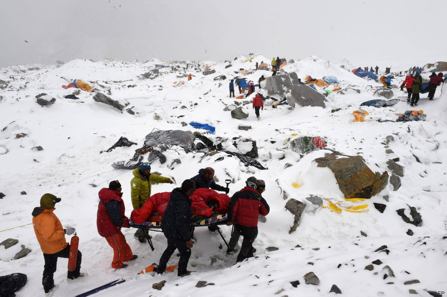avalanche everest