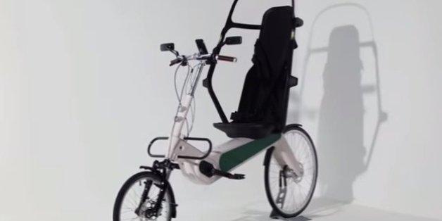 Das Babel Bike schützt selbst bei einem LKW-Zusammenstoß