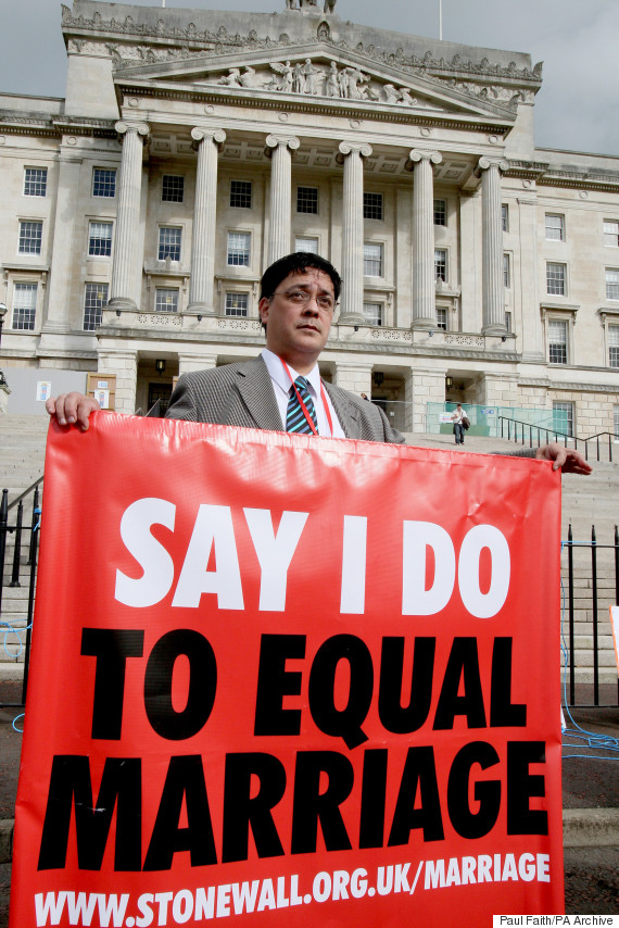 Gay rights for northern ireland