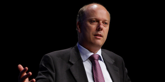 Shadow Home Secretary Chris Grayling speaking at Association of Chief Police Officers' conference in Manchester.