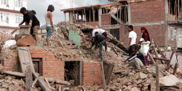 Images from Nepal following the earthquake of April 25, 2015.