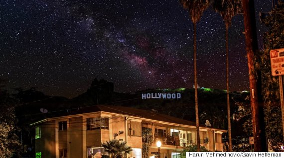 hollywood skyglow