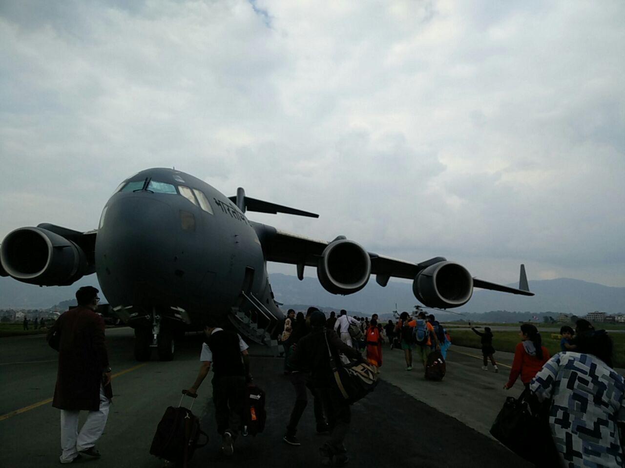 nepal plane