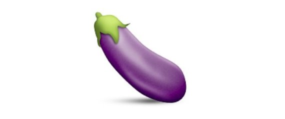 aubergine emoji instagram