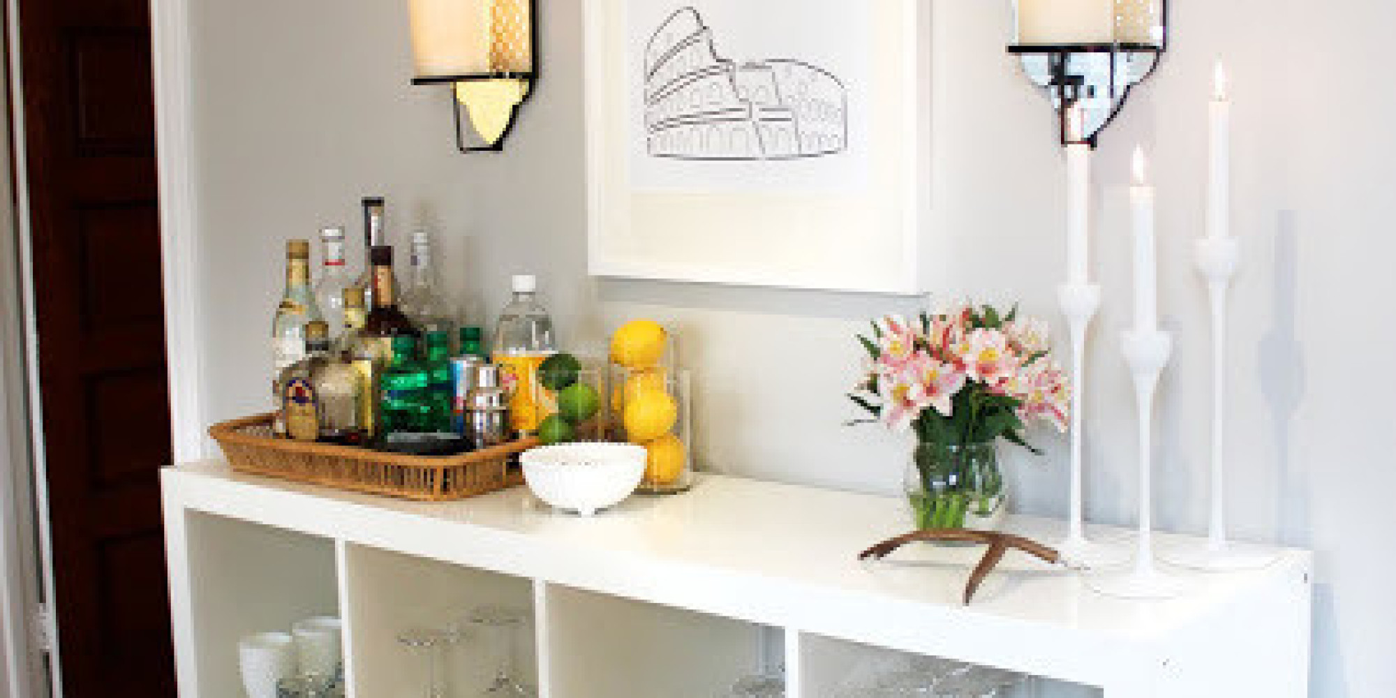10 Home Bar Concepts You Can Build This Weekend | HuffPost