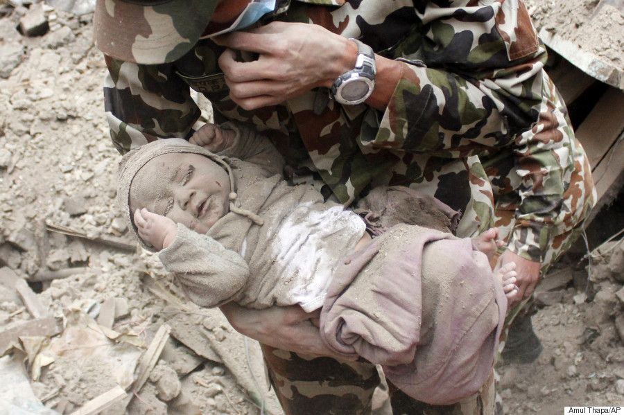nepal rescue baby