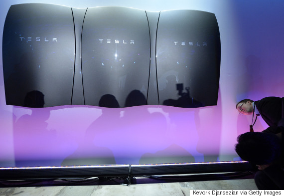 Elon Musk Unveils Tesla's Powerwall Battery And Company's Move Into Renewable Energy