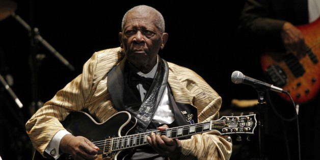 B.B. King performs in concert at the Tennessee Theater, Tuesday, May 27, 2014 in Knoxville, Tenn. (Photo by Wade Payne/Invision/AP Images)