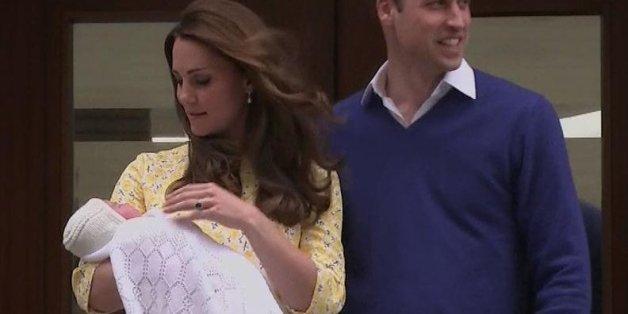 Regardez les premières images du nouveau Royal Baby