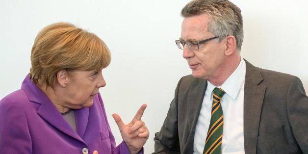 Angela Merkel und Thomas de Maizière am 20. April bei einer Sitzung des CDU-Bundesvorstandes