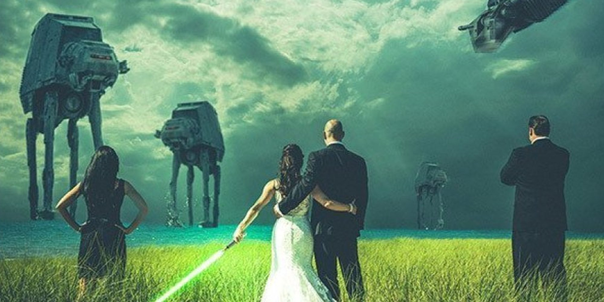 19 Awesome Wedding Ideas For \'Star Wars\' Super Fans | HuffPost