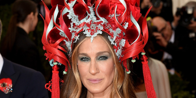 NEW YORK, NY - MAY 04:  Sarah Jessica Parker attends the 'China: Through The Looking Glass' Costume Institute Benefit Gala at the Metropolitan Museum of Art on May 4, 2015 in New York City.  (Photo by Larry Busacca/Getty Images)