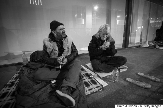 homeless women uk