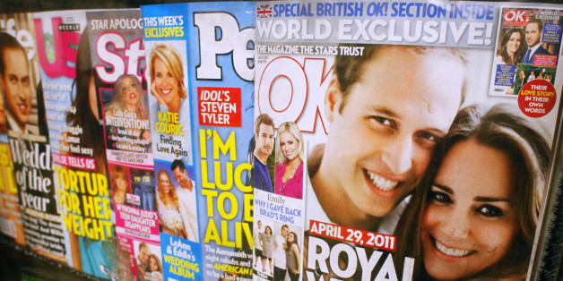 List of celebrity news magazines