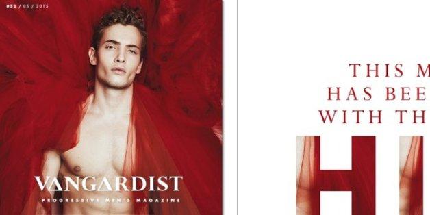 La couverture du magazine Vangardist