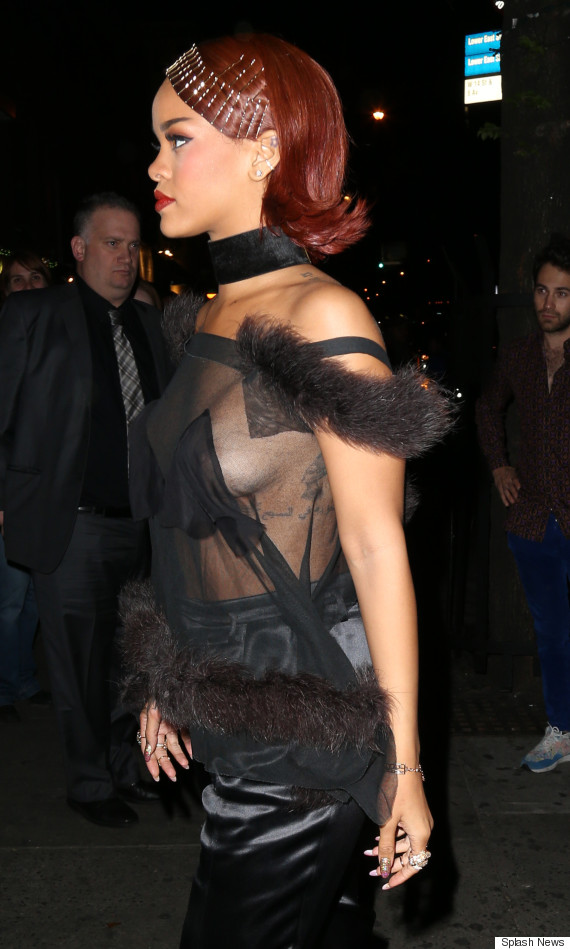 rihanna met after party