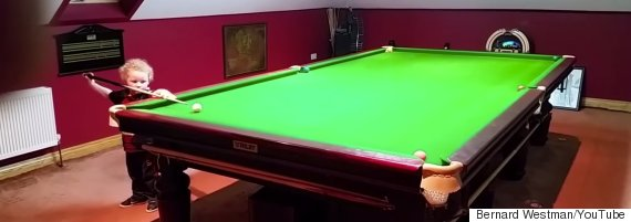 snooker three year old