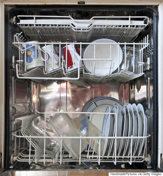 full dishwasher