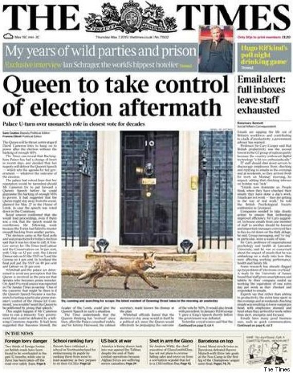 times election front page
