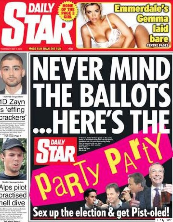 star election front page