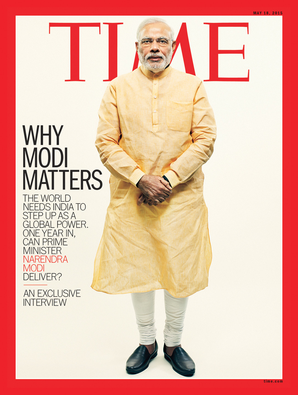narendra modi time