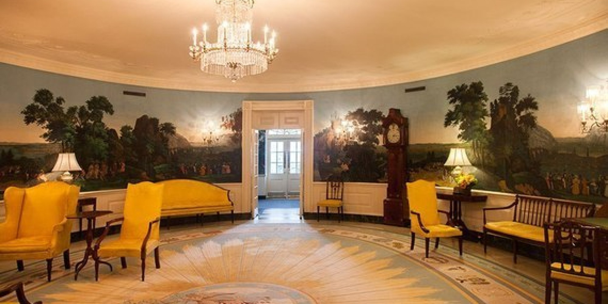White House The Diplomatic Room