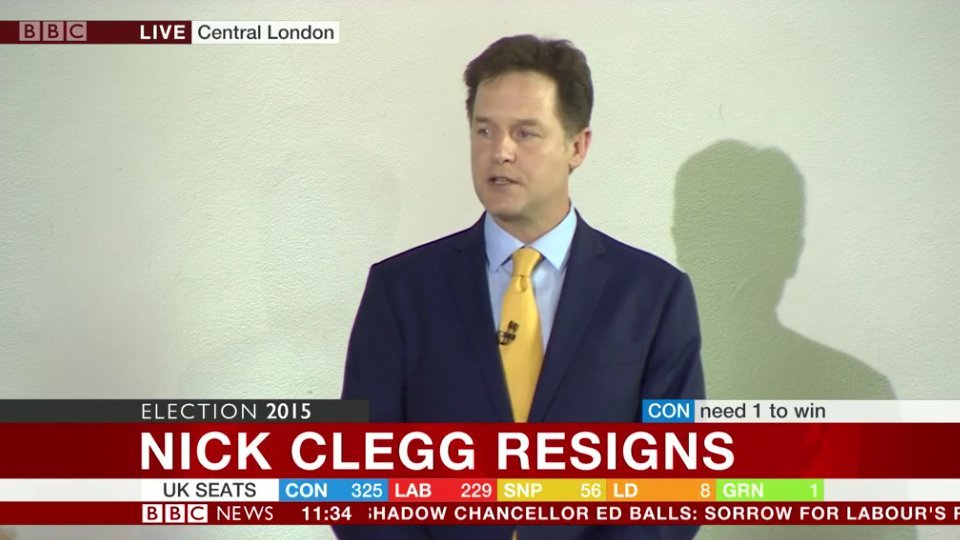 clegg quits