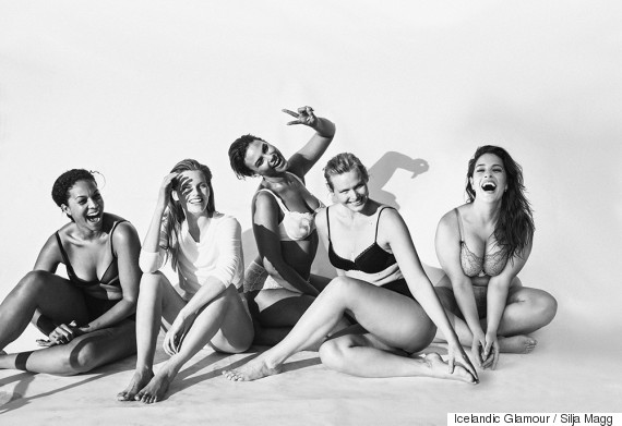 Plus Size Models Pose Nude To Promote Body Confidence And Diversity In The Fashion Industry