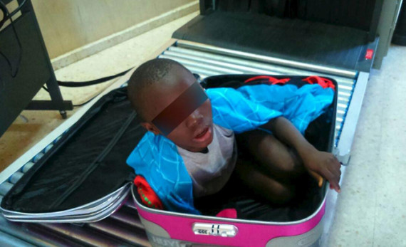 boy found in suitcase