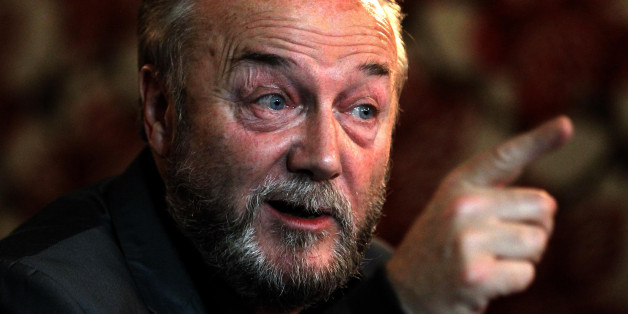 George Galloway launches his Coalition Against Cuts Campaign at the Tron Theatre in Glasgow.