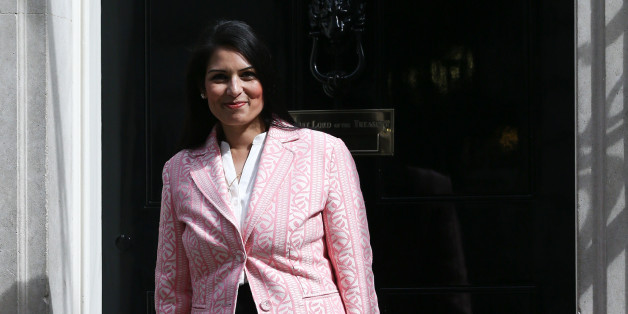 LONDON, ENGLAND - MAY 11: Priti Patel, the newly appointed employment minister, arrives at Downing Street on May 11, 2015 in London, England. Prime Minister David Cameron continued to announce his new cabinet with many ministers keeping their old positions. (Photo by Carl Court/Getty Images)