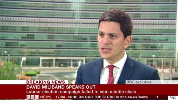 david miliband bbc