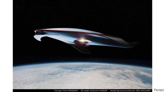 ferrari vaisseau spatial