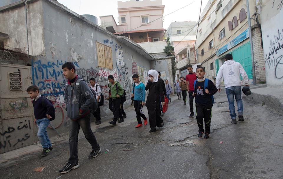 camp de réfugiés bethléem