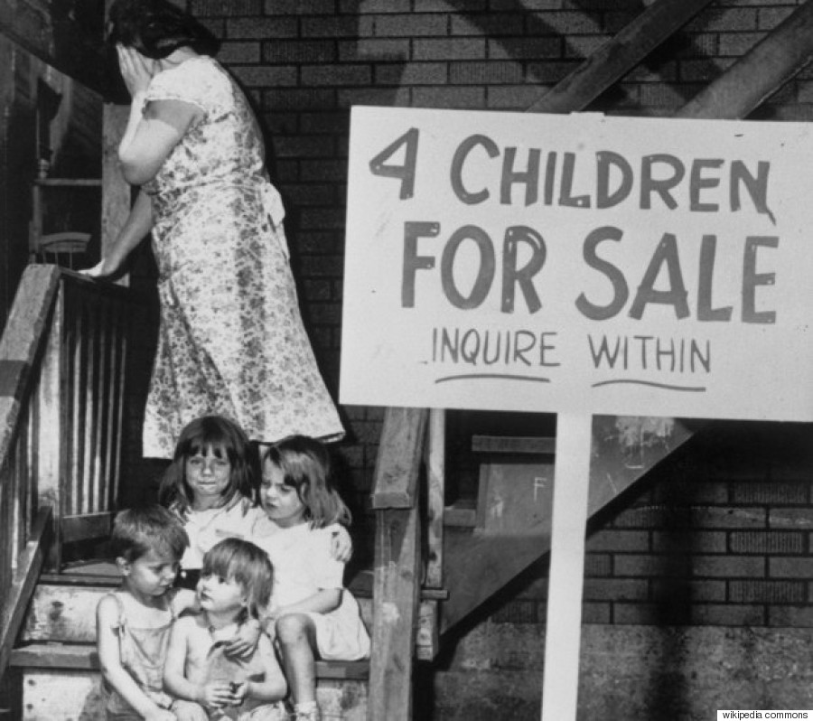 4 children for sale vintage