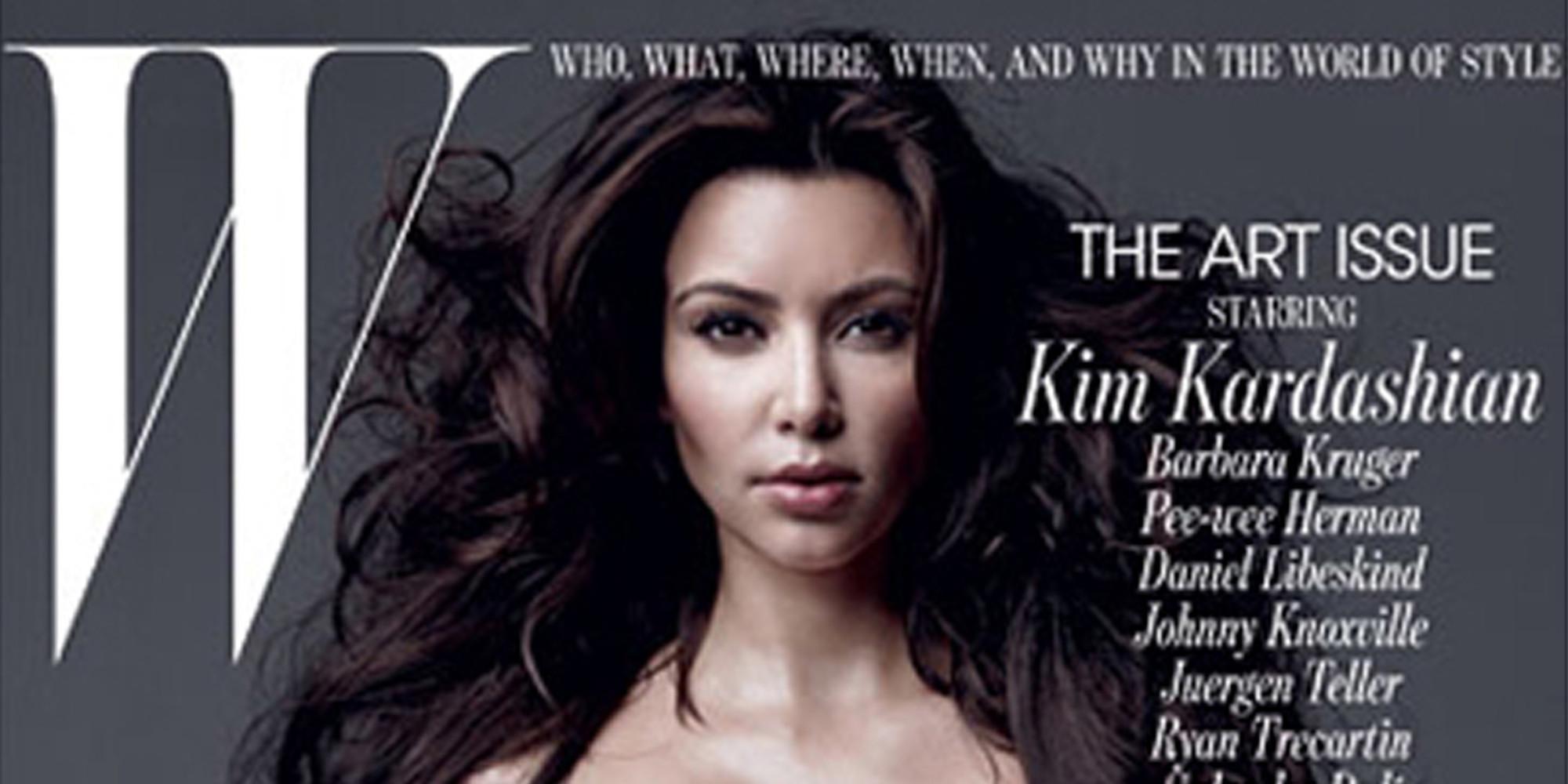 With Kim kardashian w cover for that