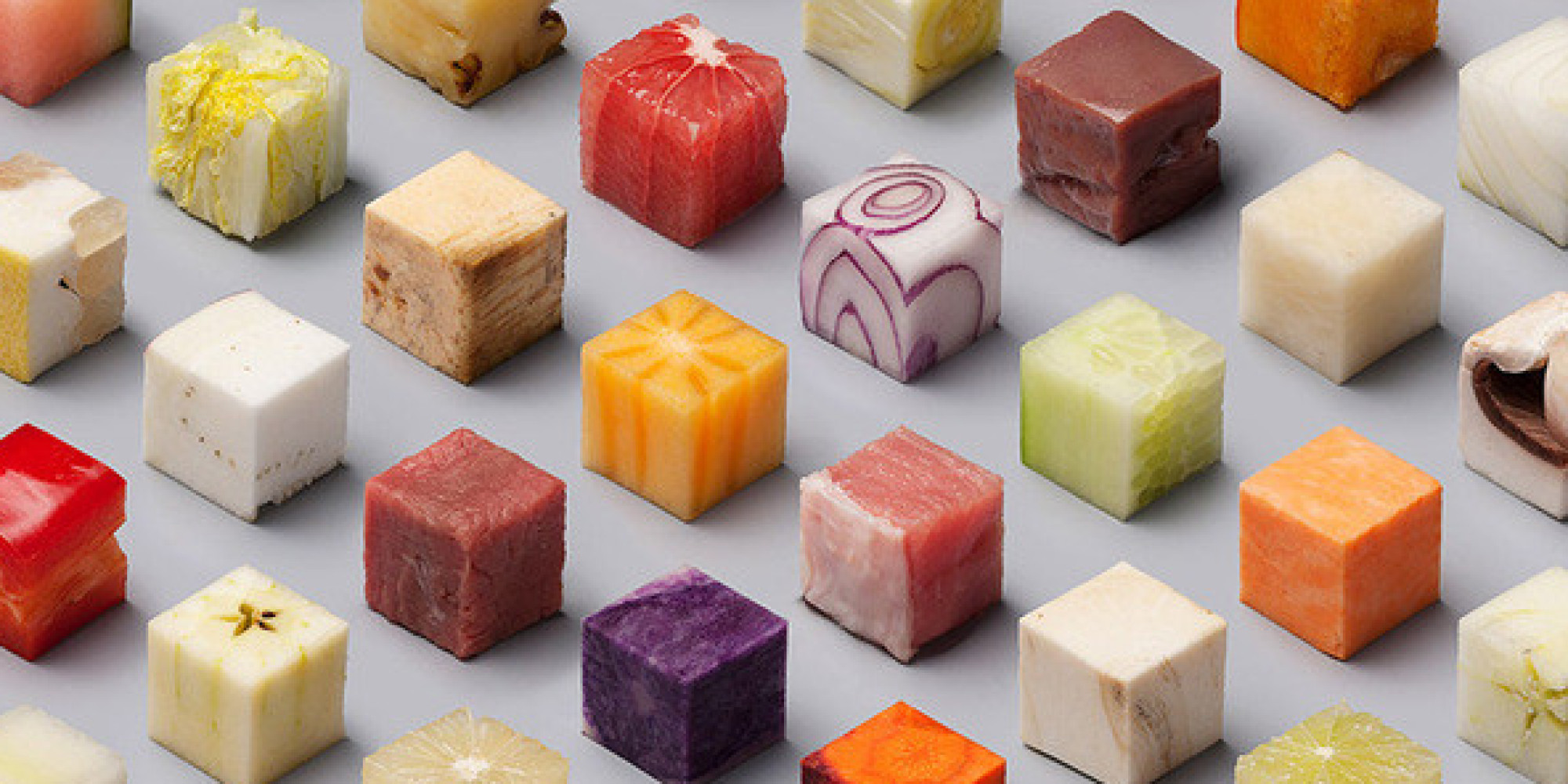 can you identify these 98 foods cut into identical cubes huffpost. Black Bedroom Furniture Sets. Home Design Ideas