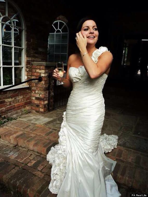 alice wedding day