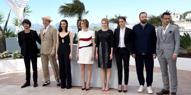 CANNES, FRANCE - MAY 15: (L-R) Actors Ben Whishaw, John C. Reilly, Rachel Weisz, Angeliki Papoulia, Lea Seydoux, Ariane Labed, director Yorgos Lanthimos and actor Colin Farrell attend a photocall for 'The Lobster' during the 68th annual Cannes Film Festival on May 15, 2015 in Cannes, France.  (Photo by Ben A. Pruchnie/Getty Images)