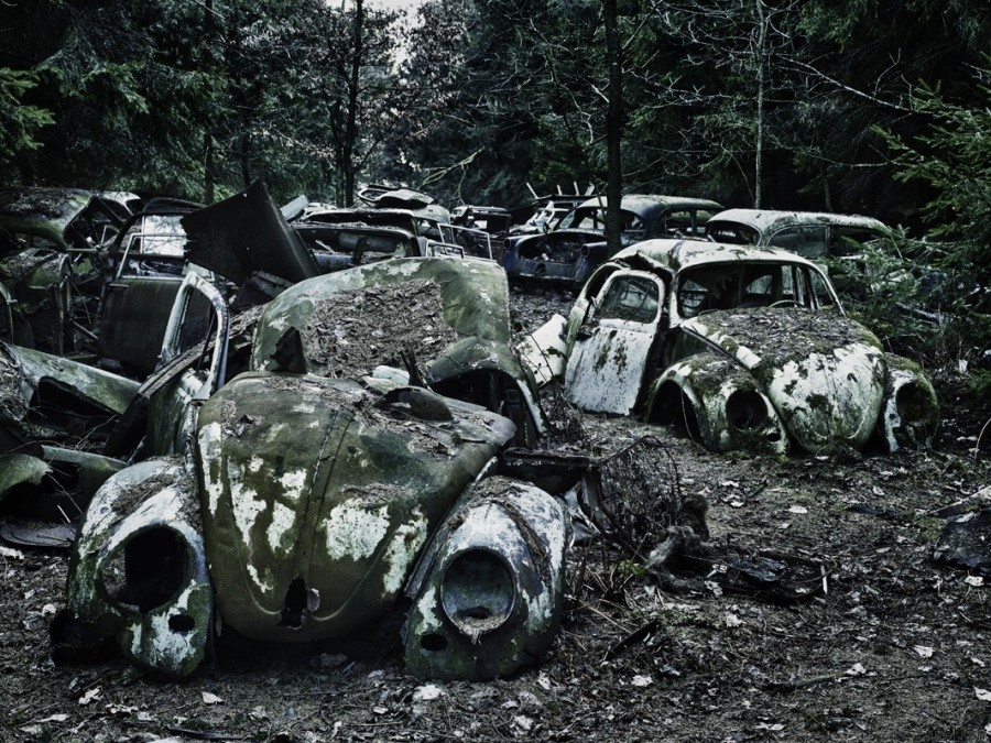 voitures abandonnees