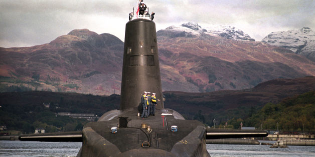 File photo dated 30/01/02 of the Royal Navy's 16,000 ton Trident-class nuclear submarine Vanguard, as security and safety concerns around the UK's nuclear deterrent are being investigated after a series of claims from a Royal Navy submariner.