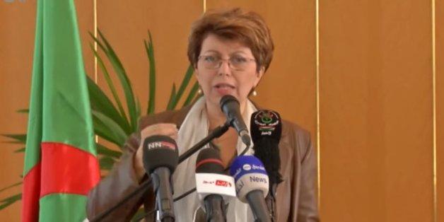 Nadia Labidi, le jour de son départ du ministère de la culture