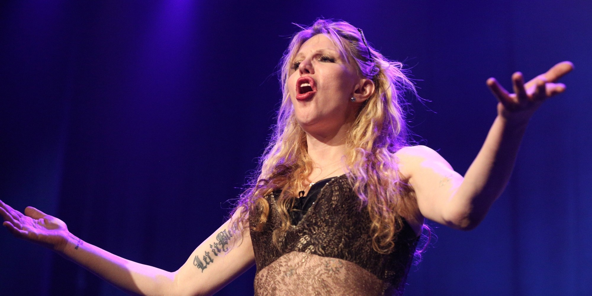 Courtney Love Releases Miss Narcissist Huffpost