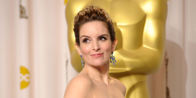 HOLLYWOOD, CA - FEBRUARY 26:  Actress Tina Fey  poses in the press room at the 84th Annual Academy Awards held at the Hollywood & Highland Center on February 26, 2012 in Hollywood, California.  (Photo by Jason Merritt/Getty Images)
